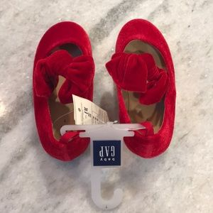 NWT Red Suede Shoe